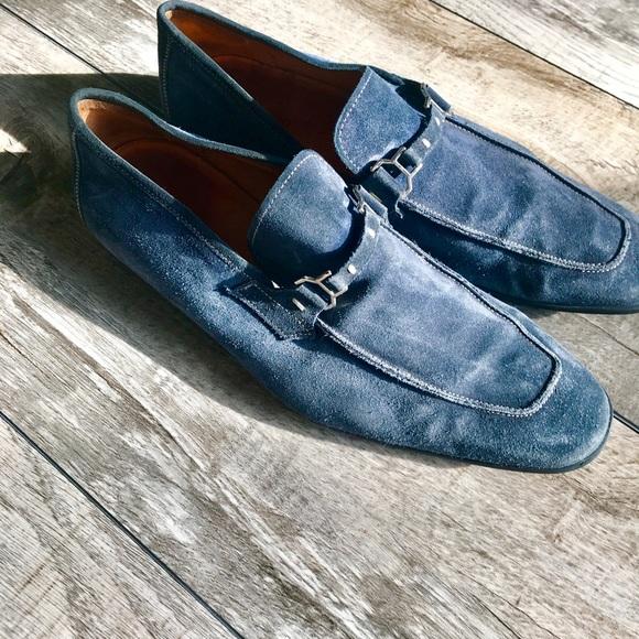 Magnanni Shoes | Magnanni Blue Suede
